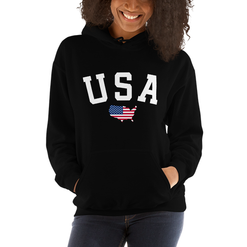 usa hooded sweatshirt Hooded Sweatshirt - - Amazing Tshirt Shop