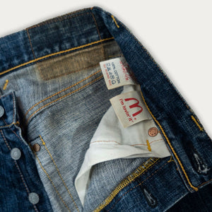 Evisu X McDonald's Jeans | before midnight vintage