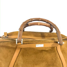 Load image into Gallery viewer, Gucci suede handbag | before midnight vintage