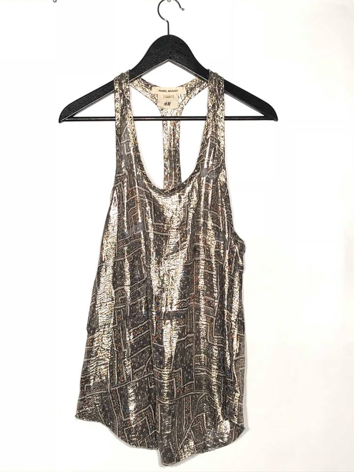 Isabel Marant pour H&M top | before midnight vintage