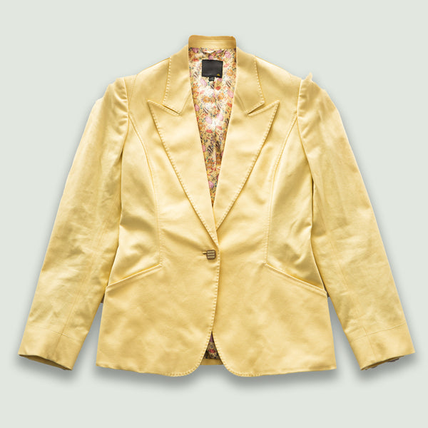 Yellow Fendi blazer