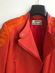 Acne studios leather jacket | before midnight vintage