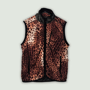 Needles Leopard vest | before midnight vintage