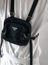 Load image into Gallery viewer, Prada Nylon Chest Bag | before midnight vintage