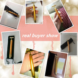 Facial beauty massager 24K gold T bar cheapest stylo massage vibrant pas cher