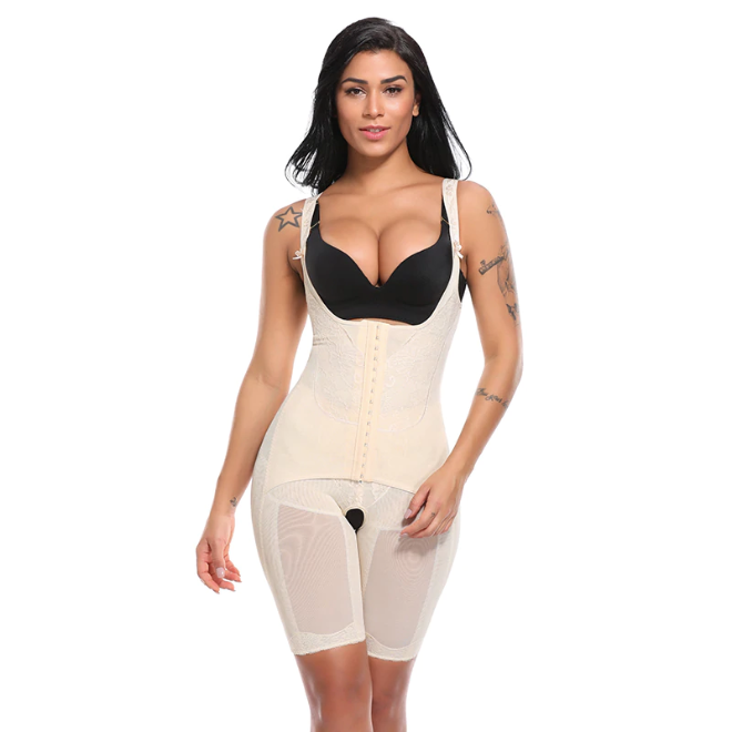 All-Embracing Seamless Bodysuit Shapewear