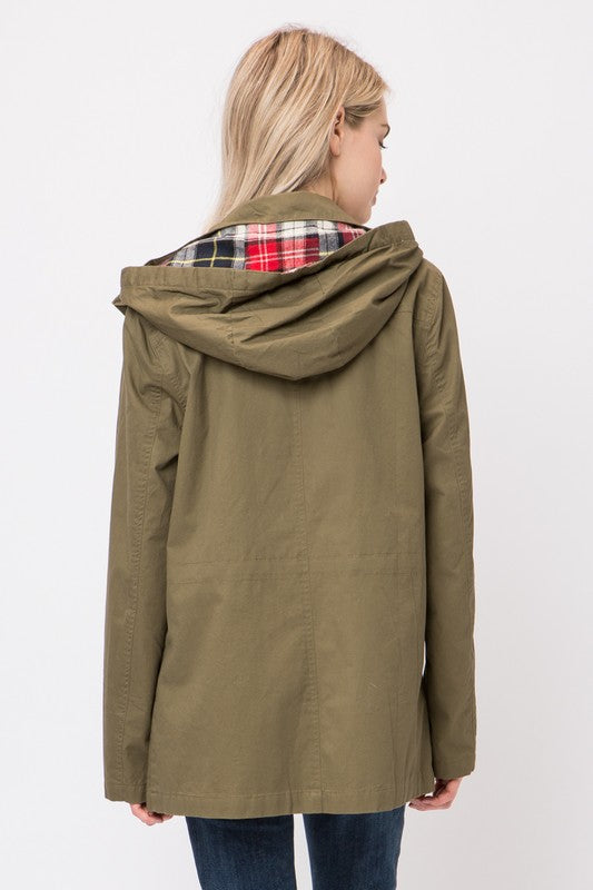 Love Anorak Jacket - Olive