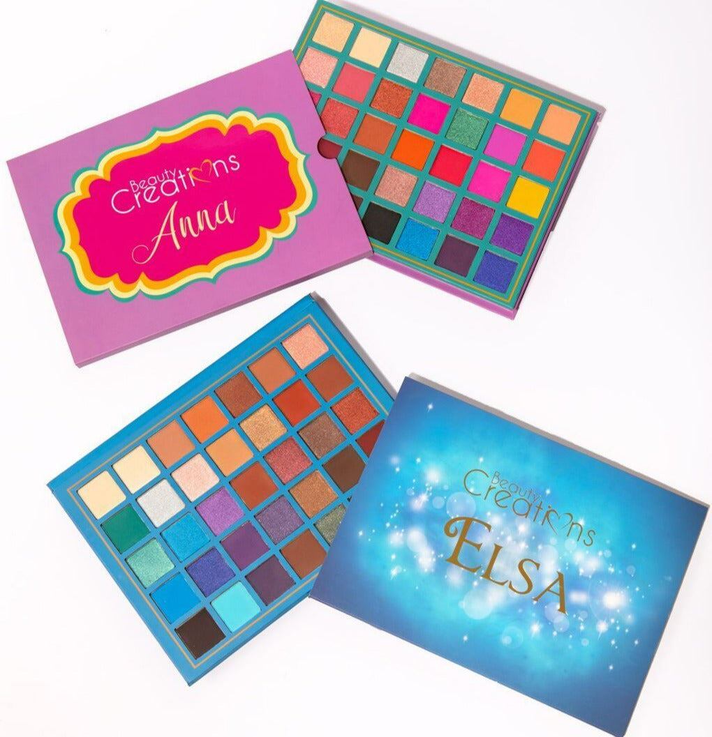 ANNA AND ELSA DUO EYESHADOW PALETTES