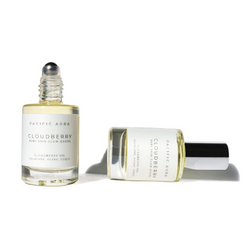clean beauty mini size Squalane Facial Oil: Cloudberry, CoQ10, Algae: Non-Comedogenic pacific aura botanicals