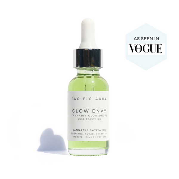 VEGAN SQUALANE, GREEN TEA & ALGAE FACIAL OIL: NON-COMEDOGENIC, BRIGHTENS, FIGHTS INFLAMMATION, CANNABIS SATIVA SEED OIL, CRUELTY-FREE, CLEAN BEAUTY, LEAPING BUNNY, 1% FOR THE PLANET