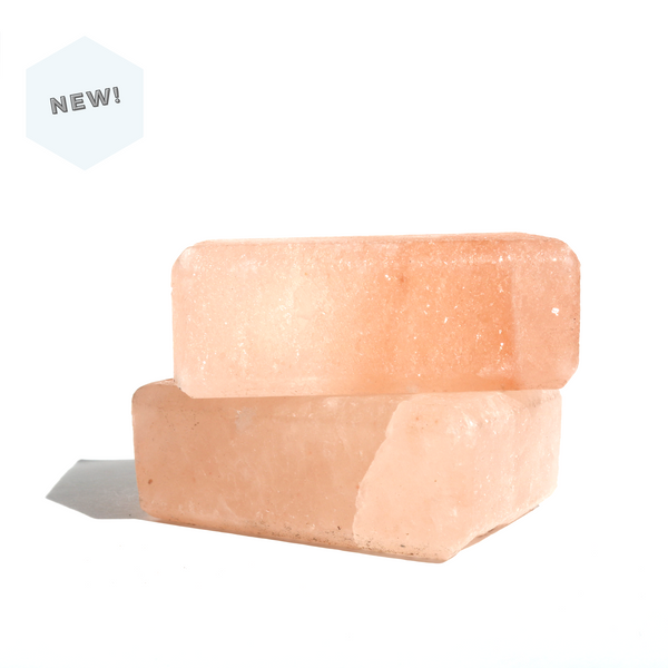 Himalayan Pink Salt Deodorant- 100% Natural Crystal Salt Bar, cruelty-free, vegan, clean beauty skincare, leaping bunny, 1% for the planet