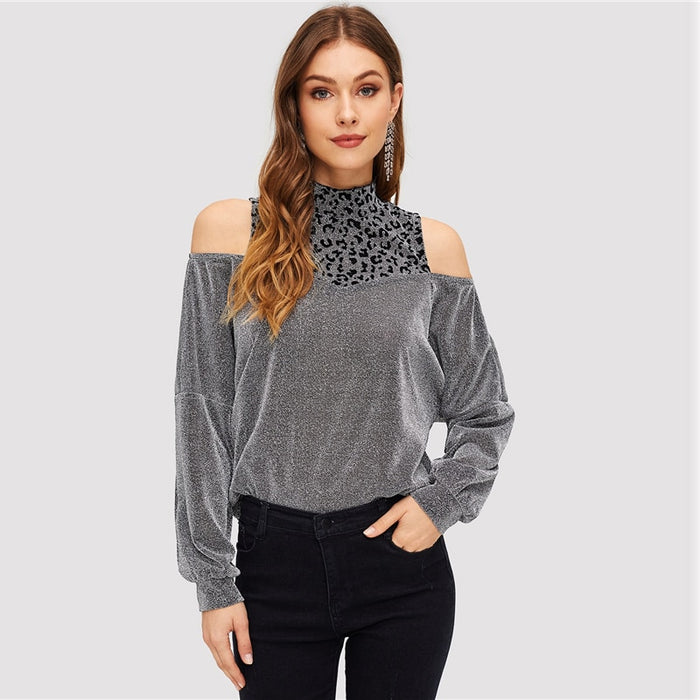 Modern Silver Pullover