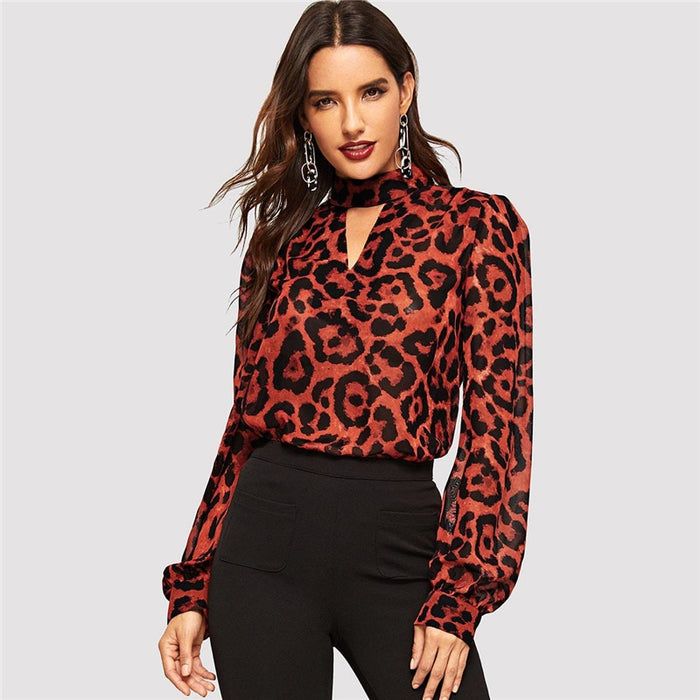 Bishop Leopard Top