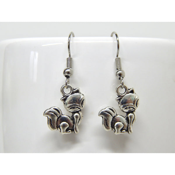 Silver Fox Earrings
