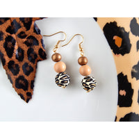 Leopard Hide Out Earrings