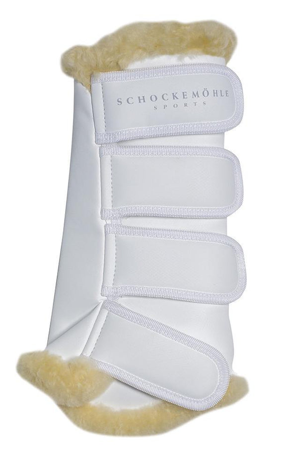 Schockemohle Horse Boots w/fur (4)