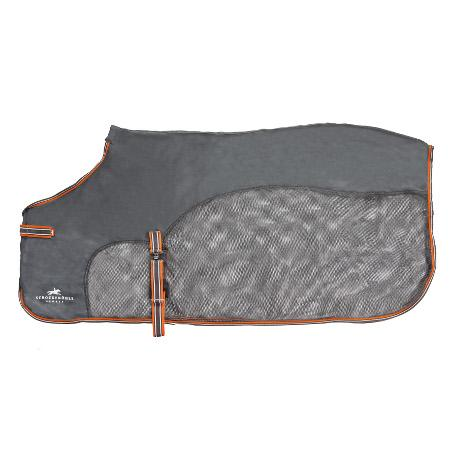 Schockemohle fly plus scrim sheet for the fashionable horseback rider. This piece of horse equipment is great for hot weather.