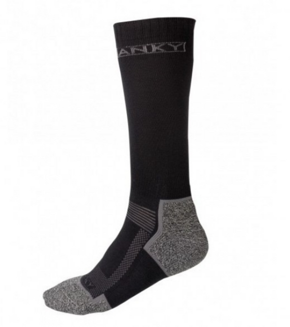 ANKY technical long sock for horseback riding. Socks for equestrians with support.