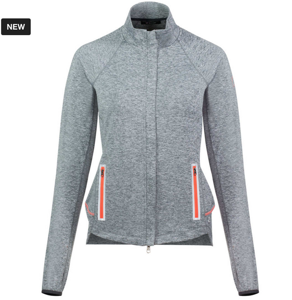 The Horze Cassidy long sleeve horseback riding sweater for stylish and fashionable equestrians.
