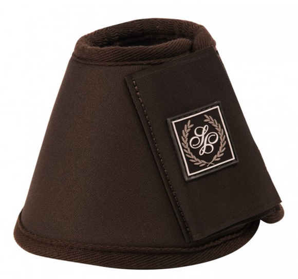 Schockemohle Neoprene Bell Boots for fashionable horseback riders.