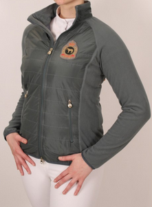 Iris Bayer Ladies Fleece Zip-Up Jacket