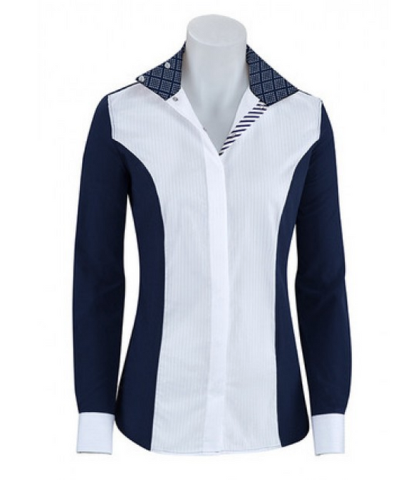 RJ Classic Windsor horseback riding competition shirt for the stylish equestrians. These are a great addition to any horseback riders wardrobe.