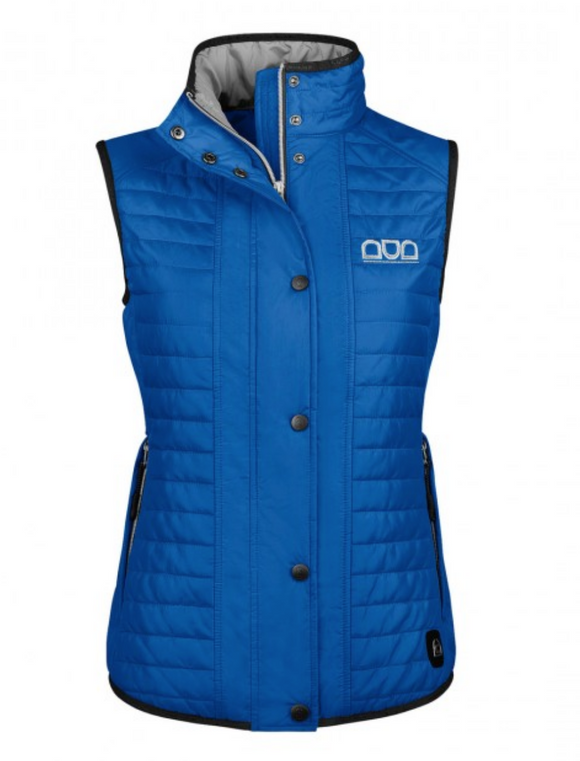 This horseback riding vest is perfect for all equestrians. This equestrian stylish vest is by Cavallo International.