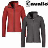 Cavallo international clothing for the stylish equestrian. This horseback riding competition shirt is detailed with lace.