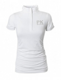 PK quarter zip equestrian competition shirt for the stylish horseback rider.