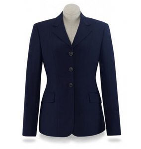 RJ Classic horseback riding competition jacket. Horseback riding competition jacket for dressage and hunter/jumper riders.
