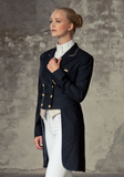 Shadbelly or show jacket for the stylish competitive horseback rider.