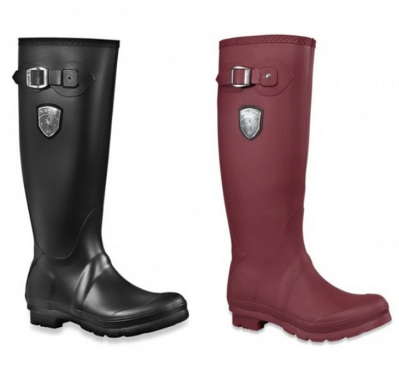 Kamik rain boots for the stylish equestrian. Wear these horseback riding rain boots at the barn or around town. These are perfect for the fashionable equestrian.