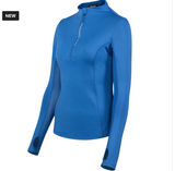 Horze Brittany a long-sleeve top for horseback riding and stylish equestrians on the go.
