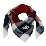 Springstar Chiara scarf is a perfect oversized scarf for fashionable horseback riders.