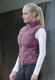 The Horze Laurel horseback riding vest for fashionable equestrians. The horseback riding vest for all occasions.