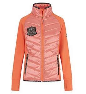 La Valencio zip-up jacket for the fashionable horseback rider. This horseback riding jacket is great for all equestrians.