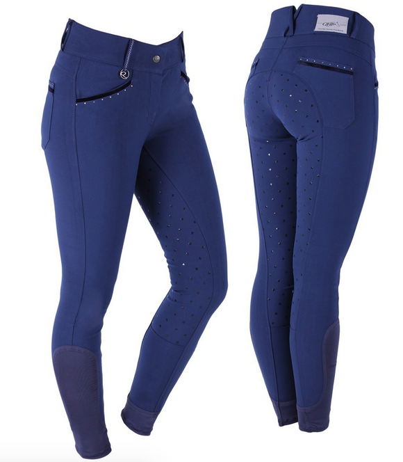 The QHP Vajen full-seat horseback riding pants for everyday horseback riding. These are stylish and comfortable riding pants for all horseback riders.