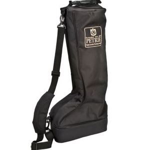 Petrie Boot Bag for petrie horseback riding tall boots.