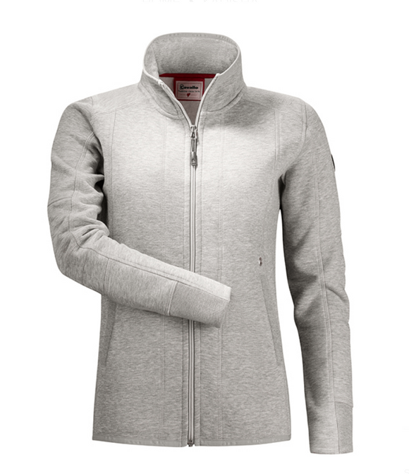 Cavalla Kadisha sweat jacket are designed for the fashionable equestrian. This horseback riding sweater is perfect for riding.