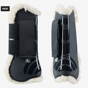 The Horze Caliber tendon boots for all equestrian riding needs. These horse boots for the horse are stylish and fashionable.