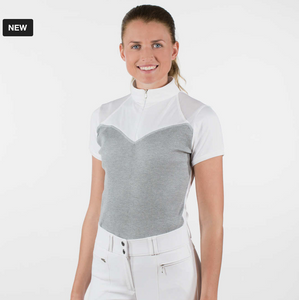 Horze Micheala competition shirt for horseback riders. These are great horseback riding competition shirt.