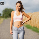 The Horze womens sports bra for stylish equestrians. These sports bras are going to be great for horseback riding in all types of weather.