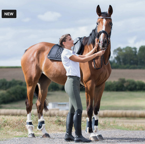 Horze Angelina full seat horseback riding pants for stylish equestrians. These are great everyday riding pants.
