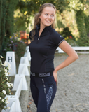 QHP Ella pull-on horseback riding pants for the fashion forward equestrian.