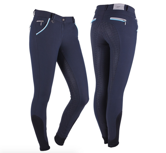 QHP Jacklyn horseback riding pants for the fashionable equestrian. These are great winter or summer horseback riding pants.