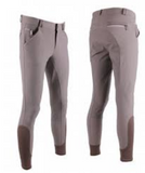 The QHP Jason men's anti-slip full-seat breeches for the male equestrian.