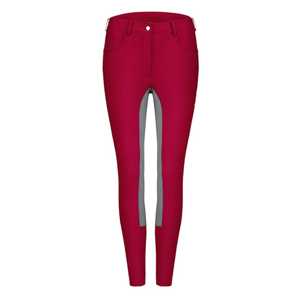 Cavallo international styled breeches for equestrians. These cleo full seat breeches are designed for horseback riders.