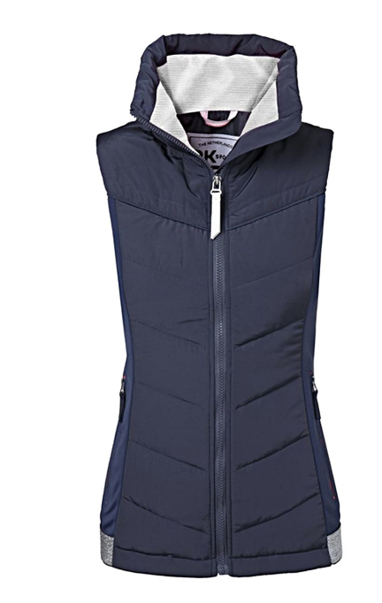 PK International Romance horseback riding vest for the fashionable equestrians. This horseback riding vest is stylish and comfortable for the women horseback riders.