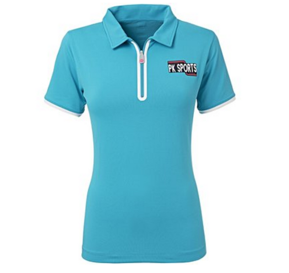PK International Hero short-sleeve horseback riding polo-shirt for the fashionable equestrian.