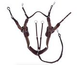 QHP Sedna Breastplate for the event horseback rider. This breastplate is a five-point breastplate designed for life in the saddle.